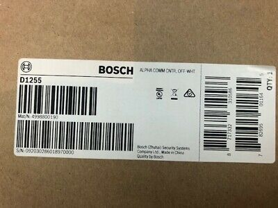 Bosch D1255 Keypad New - Free Shipping