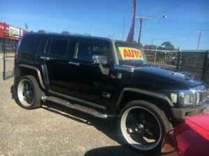 2008 Hummer H3 Luxury Black 4 Speed Automatic Wagon Elizabeth West Playford Area Preview
