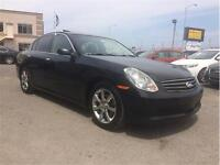 2005 Infiniti Berline G35xs Luxury, FINANCEMENT MAISON