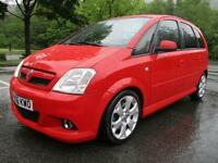 Vauxhall Meriva Vxr 16v Mpv (multi-Purpose Vehicle) PETROL MANUAL 2006/56