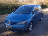 GOLF PLUS SE DIESEL NEW MOT &CAMBELT