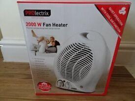 Prolectrix 2000W Fan Heater