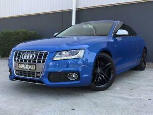 2009 Audi S5 8T 4.2 FSI Quattro Deep Sea Blue 6 Speed Sports Automatic Coupe