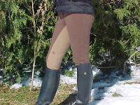 NEW LADIES FULL SEAT & KNEE PATCH BREECHES