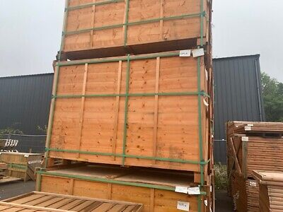Fence Full Pallet of Lap Panel 18 Panels 4FT DEAL! with delivery