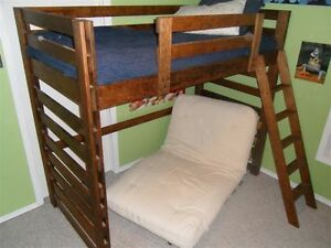 Solid Maple loft bed