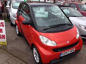 SMART FORTWO COUPE Passion 2dr Auto (black) 2008
