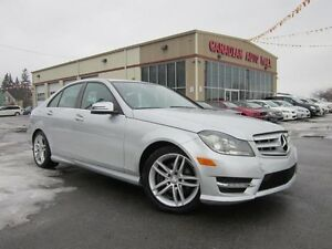 2012 Mercedes-Benz C-Class C250 4MATIC, NAV, LOADED, 63K!