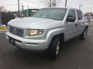 2008 Honda Ridgeline LX Crewcab Clean Maintained Certified 4X4