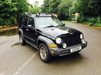 JEEP CHEROKEE 2.8 RENEGADE CRD 5DR Manual (black) 2005