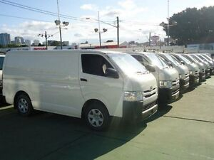 2014 Toyota Hiace TRH201R MY14 LWB White 4 Speed Automatic Van Canada Bay Canada Bay Area Preview