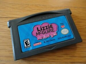 Lizzie McGuire: On the Go! - Game Boy Advance Game