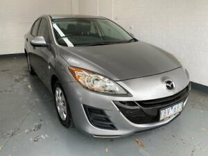 2010 Mazda 3 BL10F1 MY10 Neo Activematic Grey 5 Speed Sports Automatic Sedan Ringwood Maroondah Area Preview