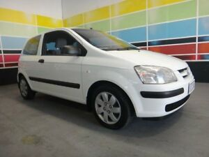 2003 Hyundai Getz TB GL White 5 Speed Manual Hatchback Wangara Wanneroo Area Preview