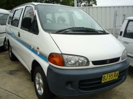 1995 Mitsubishi Starwagon GL White 4 Speed Automatic Wagon Old Guildford Fairfield Area Preview