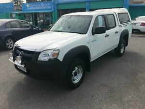 2007 Mazda BT-50 B3000 DX White 5 Speed Manual Dual Cab Pick-up Christies Beach Morphett Vale Area Preview