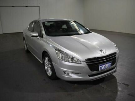 2013 Peugeot 508 MY13 Active 1.6T Bianca White 6 Speed Automatic Sedan