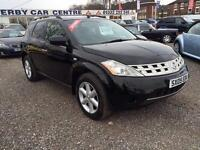 2005 NISSAN MURANO 3.5 V6 CVT 4 X 4 Auto FACTORY SAT NAV FULL LEATHER BIG SPEC