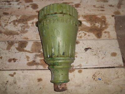 Antique Victorian Cast Iron Decorative Rainwater Hopper 3  inch Outlet   H6