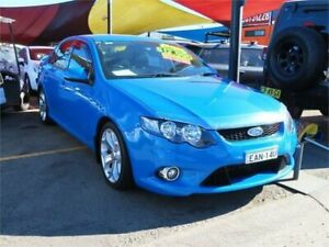 2010 Ford Falcon FG XR6 Blue 6 Speed Sports Automatic Sedan