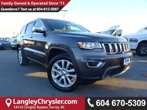 2017 Jeep Grand Cherokee Limited *ACCIDENT FREE*ONE OWNER*LOC...