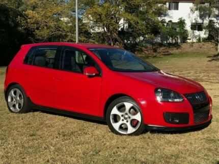 2007 Volkswagen Golf V MY07 GTI DSG Red 6 Speed Sports Automatic Dual Clutch Hatchback