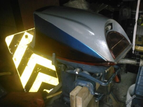 Used 1971 Evinrude 25 hp electric start