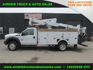 2011 Ford Super Duty F-550 DRW XL 37.5 Ft Altec Bucket Boom CVIP