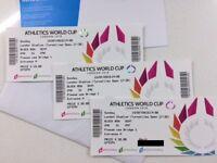 Athletics World Cup - London, Olympic Stadium - 15 Jul - 7pm - Block 240