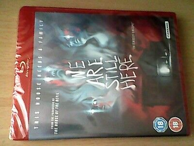 We are still here (blu ray)  RARE AND NEW   ONLY 500 PRINTED FOR UK RELEASE