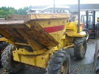 Thwaites 4 tonne 4wd swivel dumper