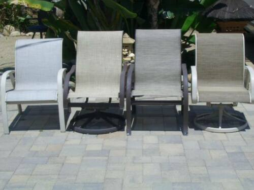 PATIO CHAIR REPLACEMENT SLING-SEWN-furniture mesh fabric material Tropitone lawn