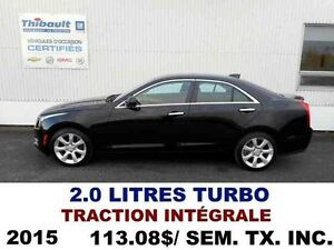 2015 CADILLAC ATS SEDAN AWD 2 LITRES TURBO