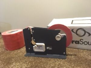 TACH-IT Bag Sealer w/ extra tape and bags