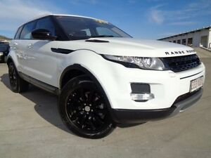 2014 Land Rover Range Rover Evoque L538 MY14 TD4 Pure Tech Fuji White 9 Speed Sports Automatic Wagon Garbutt Townsville City Preview