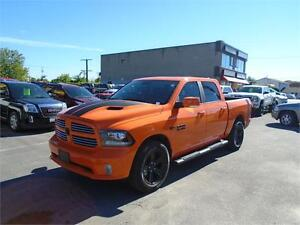 "2017 Ram 1500 SPORT ""RARE ORANGE"" RATES AS LOW AS 3.69 ""LOADED"""