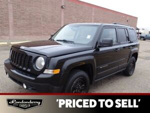 2014 Jeep Patriot 4WD NORTH Accident Free,  A/C,