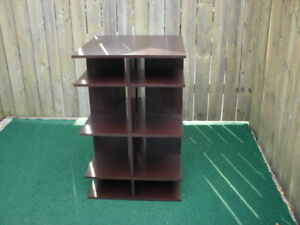 wood Cubes shelves stand