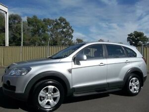 2010 Holden Captiva CG MY10 SX (4x4) Silver 5 Speed Automatic Wagon Lalor Park Blacktown Area Preview