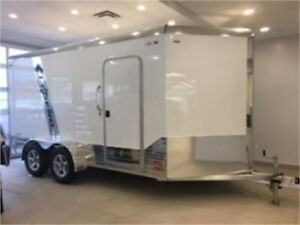 2019 LEGEND 7' X 17' DELUXE V-NOSE ENCLOSED TRAILER