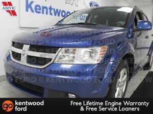 2010 Dodge Journey SXT FWD with power leather seats, and a rear