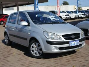 2009 Hyundai Getz TB MY09 S Silver 5 Speed Manual Hatchback Morley Bayswater Area Preview