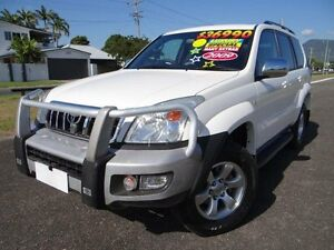 2009 Toyota Landcruiser Prado GRJ120R 07 Upgrade GXL (4x4) White 5 Speed Automatic Wagon Vincent Townsville City Preview