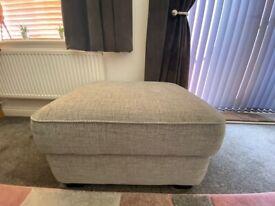 Elora Large Fabric Storage Footstool