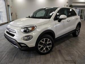 Amazing 2016 FIAT 500X 2.4 Trekking AWD AC Power features MINT