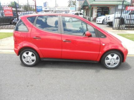 2000 Mercedes-Benz A140 W168 Avantgarde Red 5 Speed Automatic Hatchback Hampstead Gardens Port Adelaide Area Preview