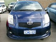 2006 Toyota Yaris NCP91R YR Blue 5 Speed Manual Hatchback Wangara Wanneroo Area Preview