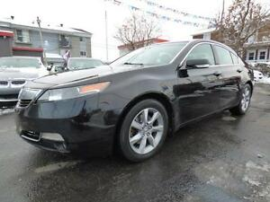2012 ACURA TL (AUTOMATIQUE, TOIT, CUIR, BLUETOOTH, MAGS, FULL!)