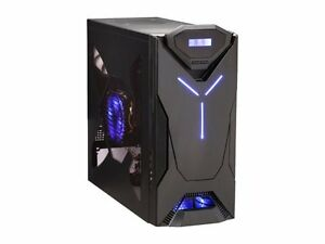 NZXT Guardian Blue LED SECC Steel / ATX Mid Tower PC Case