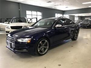 2013 Audi S4 Premium*NAVIGATION*BACK-UP CAM*6-SPEED MANUAL*
